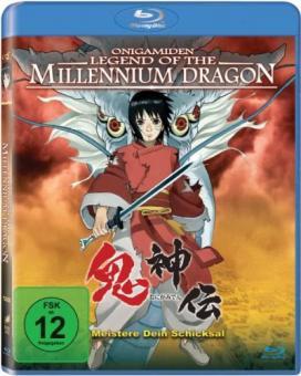 Onigamiden - Legend of the Millennium Dragon (2011) [Blu-ray]