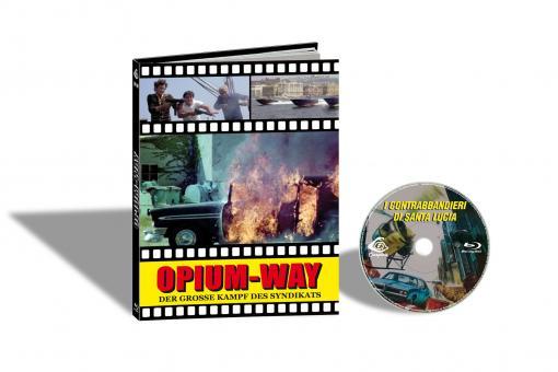 Der Grosse Kampf des Syndikats (Limited Mediabook, Cover C) (1979) [FSK 18] [Blu-ray]