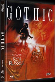 Gothic (Limited Mediabook, Blu-ray+DVD, Cover D) (1986) [Blu-ray]