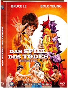 Bruce Lee - Das Spiel des Todes (Limited Mediabook, Blu-ray+DVD, Cover C) (1978) [FSK 18] [Blu-ray]