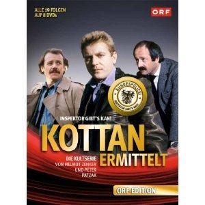 Kottan ermittelt (Alle 19 Folgen in einer Box, 8 DVDs)