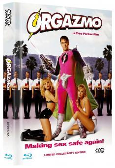 Orgazmo (Limited Mediabook, Blu-ray+DVD, Cover A) (1997) [FSK 18] [Blu-ray]