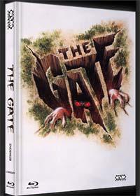 The Gate - Das Tor zur Hölle (Limited Mediabook, Blu-ray+DVD, Cover B) (1987) [Blu-ray]