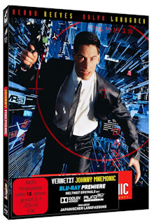 Vernetzt - Johnny Mnemonic (Limited Mediabook, 2 Blu-ray's, Cover C) (1995) [FSK 18] [Blu-ray]