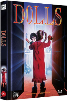 Dolls (Limited Mediabook, Blu-ray+DVD, Cover D) (1987) [FSK 18] [Blu-ray]