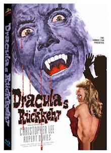 Draculas Rückkehr (Limited Mediabook, Cover B) (1968) [Blu-ray]