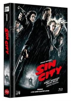 Sin City (Limited Mediabook, 2 Discs, Cover G) (2005) [FSK 18] [Blu-ray]