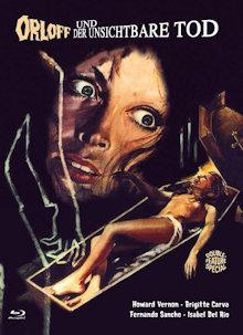 Orloff und der unsichtbare Tod (Limited Mediabook, Blu-ray+DVD, Cover C) (1971) [FSK 18] [Blu-ray]