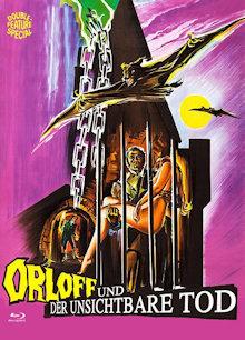 Orloff und der unsichtbare Tod (Limited Mediabook, Blu-ray+DVD, Cover A) (1971) [FSK 18] [Blu-ray]