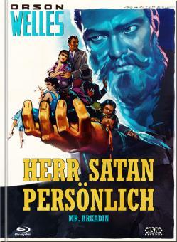 Herr Satan persönlich (Mr. Arkadin) (Limited Mediabook, Blu-ray+DVD, Cover B) (1955) [Blu-ray]