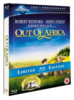 Out of Africa - Jenseits von Afrika (Mediabook) (1985) [UK Import mit dt. Ton] [Blu-ray]