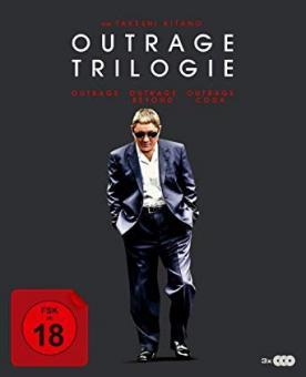 Outrage Trilogie (3 Discs) [FSK 18] [Blu-ray]