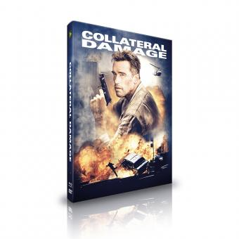 Collateral Damage (Limited Mediabook, Blu-ray+DVD, Cover C) (2002) [Blu-ray]