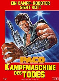 Paco - Kampfmaschine des Todes (Limited Mediabook, Blu-ray+DVD, Cover A) (1986) [FSK 18] [Blu-ray]