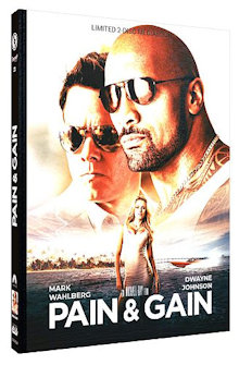 Pain & Gain (Limited Mediabook, Blu-ray+DVD, Cover A) (2013) [Blu-ray]