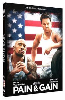 Pain & Gain (Limited Mediabook, Blu-ray+DVD, Cover B) (2013) [Blu-ray]