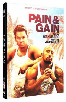 Pain & Gain (Limited Mediabook, Blu-ray+DVD, Cover C) (2013) [Blu-ray]