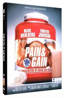 Pain & Gain (Limited Mediabook, Blu-ray+DVD, Cover D) (2013) [Blu-ray]