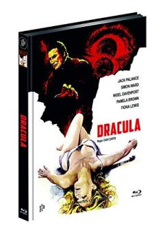 Dracula (Limited Mediabook, Blu-ray+DVD, Cover D) (1974) [Blu-ray]