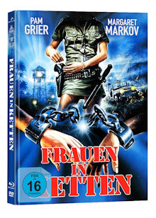 Frauen in Ketten (Black Mama, White Mama) (Limited Mediabook, Blu-ray+DVD, Cover C) (1973) [Blu-ray]