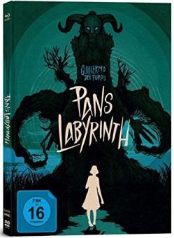 Pans Labyrinth (3 Disc Limited Mediabook, 2 Blu-ray's+DVD) (2006) [Blu-ray]