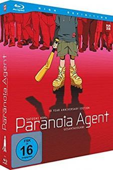 Paranoia Agent Box (2 Discs) (2004) [Blu-ray]