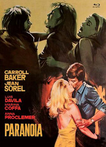 Paranoia (Limited Mediabook, Blu-ray+DVD, Cover A) (1970) [FSK 18] [Blu-ray]