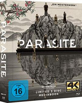 Parasite (Limited Mediabook, 4K Ultra HD+2 Blu-ray's, Cover A) (2019) [4K Ultra HD]