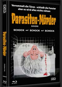 Shivers - Der Parasitenmörder (Limited Mediabook, Blu-ray+DVD, Cover A) (1975)