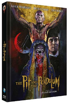 The Pit and the Pendulum - Meister des Grauens (Limited Mediabook, Blu-ray+CD, Cover C) (1991) [FSK 18] [Blu-ray]