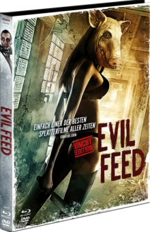 Evil Feed (Limited Uncut Mediabook, Blu-ray+DVD, Cover B) (2013) [FSK 18] [Blu-ray]