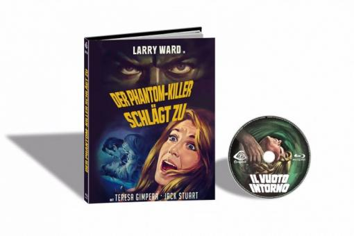 Der Phantom-Killer schlägt zu (Limited Mediabook, Cover E) (1969) [FSK 18] [Blu-ray]