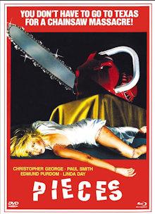 Pieces - Stunden des Wahnsinns (Limited Mediabook, Blu-ray+DVD, Cover A) (1982) [FSK 18] [Blu-ray]