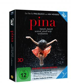 Pina (3 Disc Deluxe Edition, 2D + 3D Version, inkl. Bonusmaterial) (2011) [3D Blu-ray]