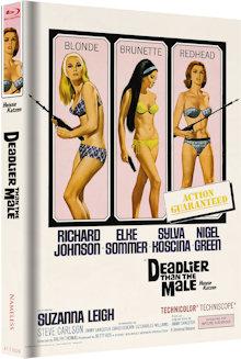 Heisse Katzen (Limited Mediabook, Cover B) (1967) [Blu-ray]