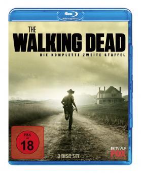The Walking Dead - Die komplette zweite Staffel (Uncut) [FSK 18] [Blu-ray]