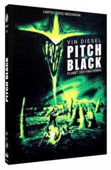 Pitch Black - Planet der Finsternis (Limited Mediabook, Blu-ray+DVD, Cover B) (2000) [Blu-ray]