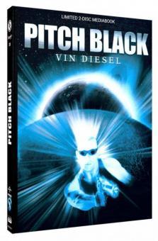Pitch Black - Planet der Finsternis (Limited Mediabook, Blu-ray+DVD, Cover C) (2000) [Blu-ray]