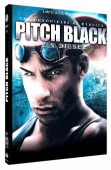 Pitch Black - Planet der Finsternis (Limited Mediabook, Blu-ray+DVD, Cover D) (2000) [Blu-ray]