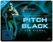 Pitch Black - Planet der Finsternis (Limited Quersteelbook) (2000) [Blu-ray]