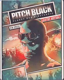 Pitch Black - Planet der Finsternis (Limited Steelbook) (2000) [Blu-ray]