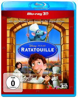 Ratatouille (3D Blu-ray+Blu-ray) (2007) [3D Blu-ray]