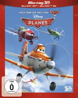 Planes (3D Blu-ray+Blu-ray) (2013) [3D Blu-ray]