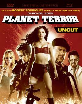 Planet Terror (Uncut, Limited Mediabook, Blu-ray+DVD) (2007) [FSK 18] [Blu-ray]