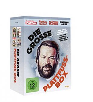Bud Spencer - Die grosse Plattfuss-Box (4 DVDs)