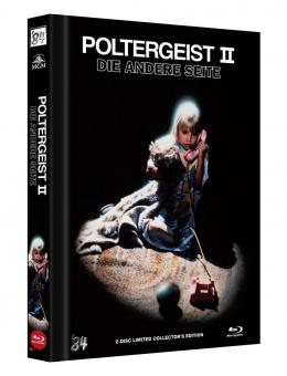Poltergeist 2 - Die andere Seite (Limited Mediabook, Blu-ray+DVD, Cover A) (1986) [Blu-ray]