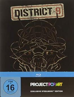 District 9 (Limited Steelbook) (2009) [Blu-ray]