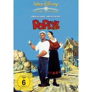 Popeye - Der Seemann mit dem harten Schlag (1980) [EU Import mit dt. Ton]