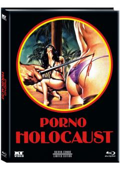 Porno Holocaust (Limited Mediabook, Blu-ray+DVD, Cover B) (1981) [FSK 18] [Blu-ray]
