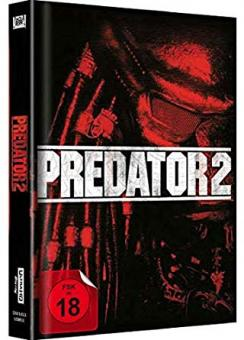 Predator 2 (Limited Mediabook, 4K Ultra HD+Blu-ray, Cover B) (1990) [FSK 18] [4K Ultra HD]